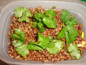Clean Eating Fiesta Quinoa Pilaf