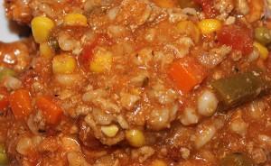 Clean Eating Turkey-Barley Stew