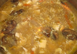 Clean Eating Hot and Sour Soup