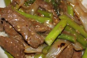 Clean Eating Asparagus Beef Beijing