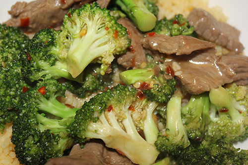 clean eating beef and broccoli