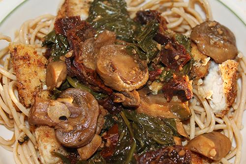 clean eating chicken marsala florentine