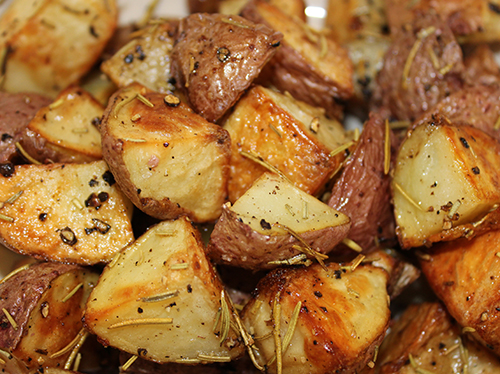 clean eating roasted rosemary potatoes