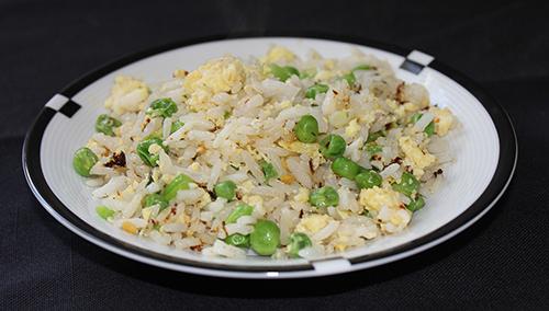 clean eating fried jasmine rice
